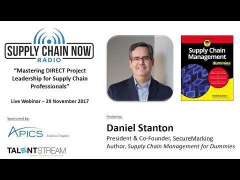 "Supply Chain Now Radio: ""Mastering DIRECT Project Leadership for Supply Chain Professionals"""