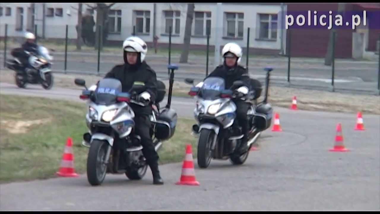 Polska Policja - Doskonalą swoje umiejętności w CSP