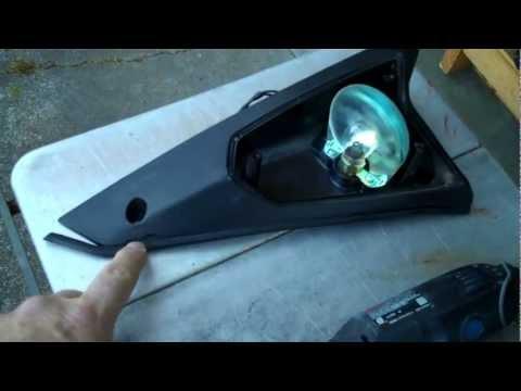 Yamaha XJ650 Turbo Seca Front Turn Signal Housing Repair-Part 1