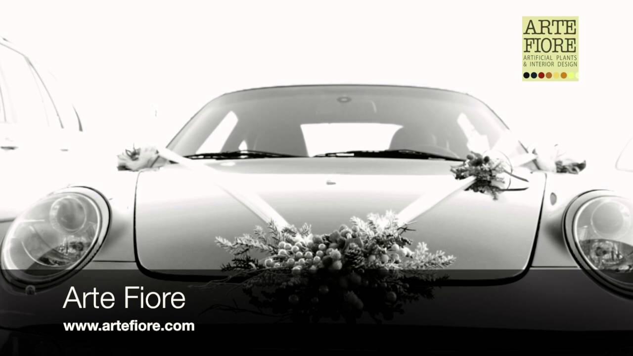 Populaire Arte Fiore: allestimento auto per matrimonio - YouTube UV87