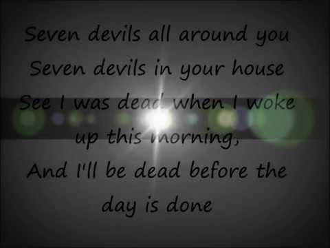 Seven Devils - Florence + The Machine (Lyrics)
