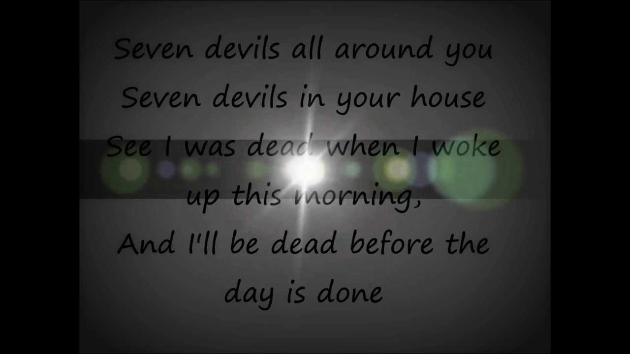 seven devils florence and the machine lyrics