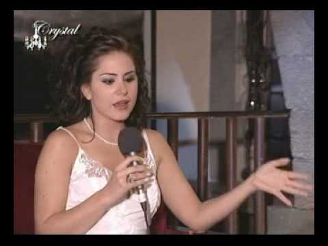 Crystal By Hakam with Syrian Star Dima Kandalaft @ ART HOUSE DAMASCUS SYRIA. PART 2