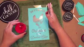 Chalk Couture and Dollar Tree DIY- Home Decor