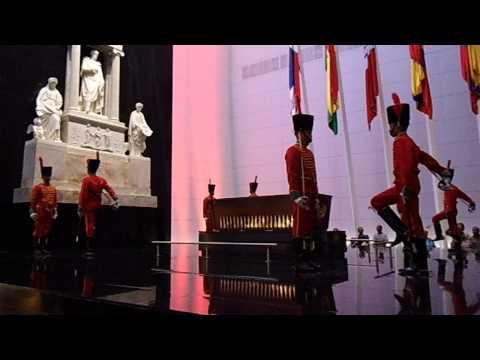Cambio de Guardia en el Panteón Nacional