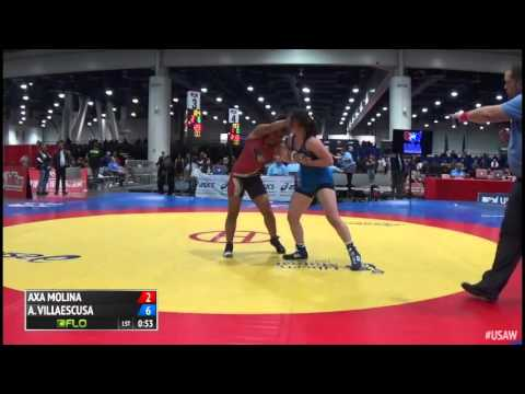 58 Consi of 16 #2 - Areana Villaescusa (Colorado Springs) vs. Axa Molina (Lindenwood Women`s WC)