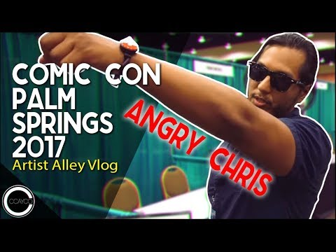 Comic Con Palm Springs 2017 - Artist Alley Vlog