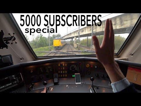 Train Driver's POV 5000 subscribers SPECIAL 2017