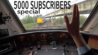 Train Driver's POV 5000 subscribers SPECIAL 2017