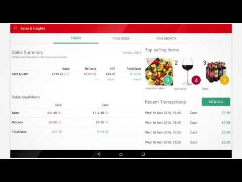 My Business Hub - Viewing your transactions