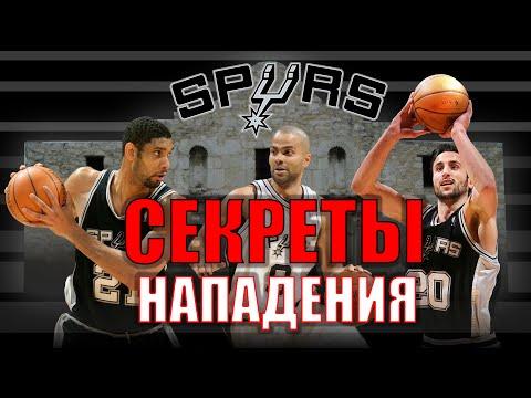 СЕКРЕТЫ НАПАДЕНИЯ San-Antonio Spurs / San-Antonio Spurs Offense / Yes Basketball