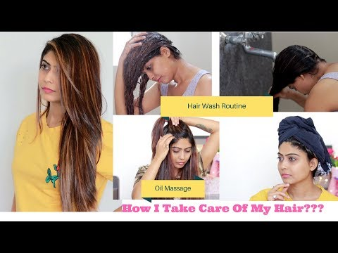 How I take care of my hair in Summer   In Hindi   Rinkal Soni