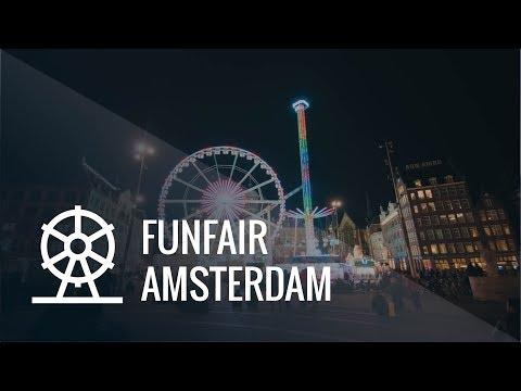 Funfair Amsterdam Timelapse