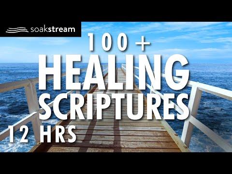 100+ Healing Scriptures With Soaking Music | Audio Bible Instrumental Worship Music| 12 Hours (2020)
