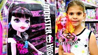 Monster High Gooliope ve  Drakulaura oyuncaklarını tanıştıroyoruz