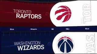 Toronto Raptors vs Washington Wizards Game Recap   1/13/19   NBA