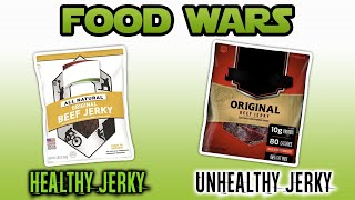 Food Wars: Quick Protein Snack: Is Beef Jerky Nutritious? - Live Lean TV