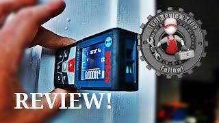 Bosch Blaze Laser Measure Review GLM 50 CX