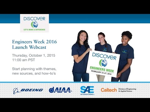 Launch of Engineers Week 2016 - 10/1/2015
