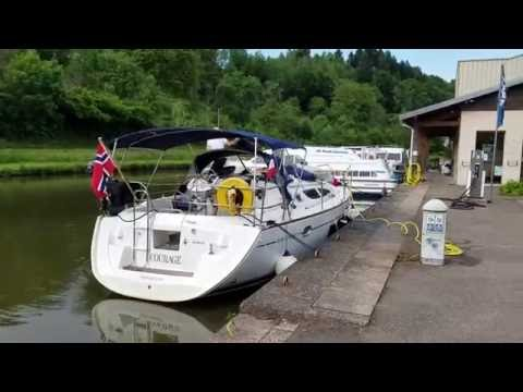 Episode # 8 - SAILING THROUGH EUROPE ON RIVERS AND CANALS, FROM MEDITERRANEAN TO THE BOONIES !