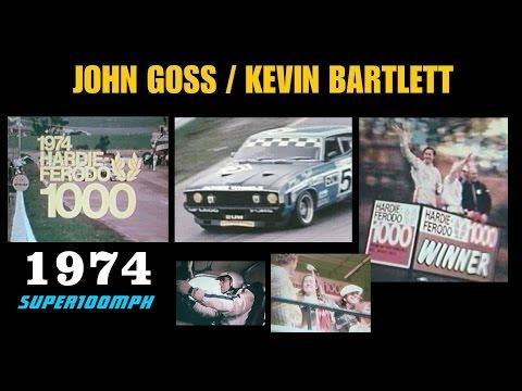 JOHN GOSS / KEVIN BARTLETT 1974 Hardie-Ferodo 1000