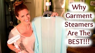 Why GARMENT STEAMERS are the BEST!! - Affordably Fabulous
