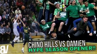 chino hills hype season opener vs damien sold out game   full highlights