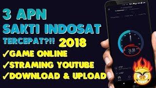 Mantap!!! 3 APN Sakti INDOSAT Tercepat?!! 2018   Support All APK