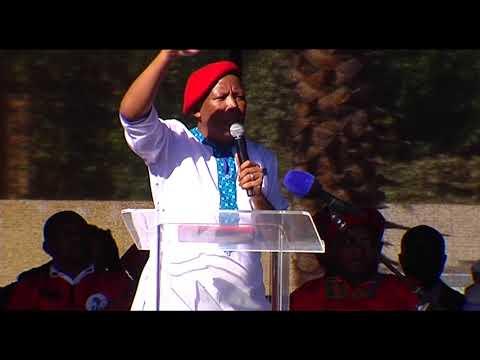 FULL SPEECH: Julius Malema's Africa Day address