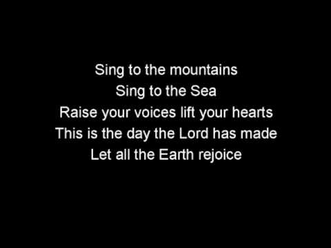 Sing to the mountains (with lyrics)