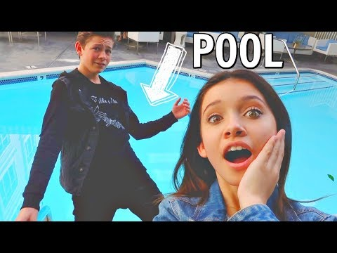 Last to say no has to jump in the pool part 1 FT Dakota Lotus