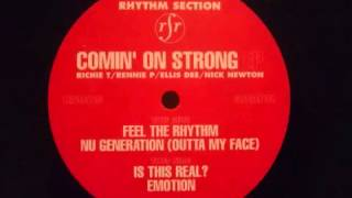 Rhythm Section -  Comin On Strong