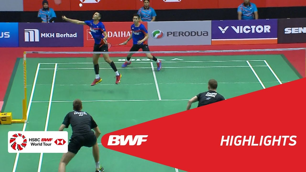 Perodua Malaysia Masters 2018  Badminton MD - SF