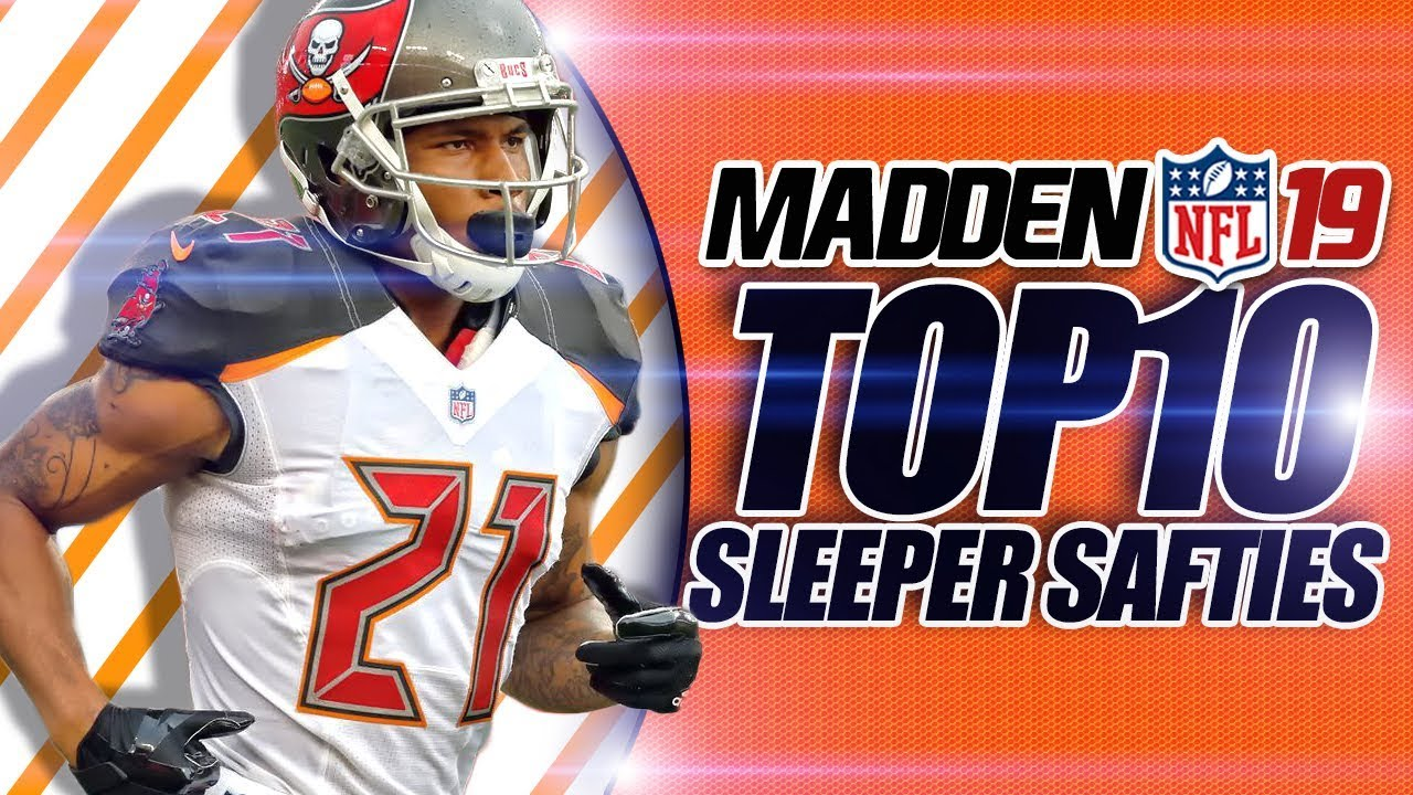 Madden 19 Franchise Top 10 Sleeper Safeties