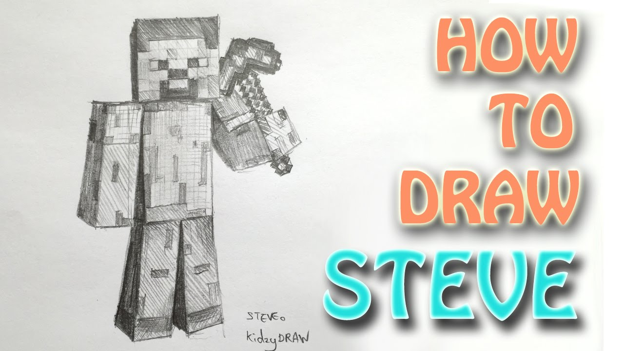 Minecraft Axe Drawing