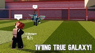 1v1ing True Galaxy! | Roblox Jailbreak