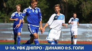 U-16. УФК ДНІПРО - ДИНАМО Київ 0:5. Голи