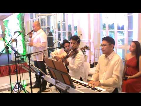 WEDDING MUSIC BAND MANILA PHILIPPINES - Grow Old With You -Event Supplier Acoustic Musicians Singers