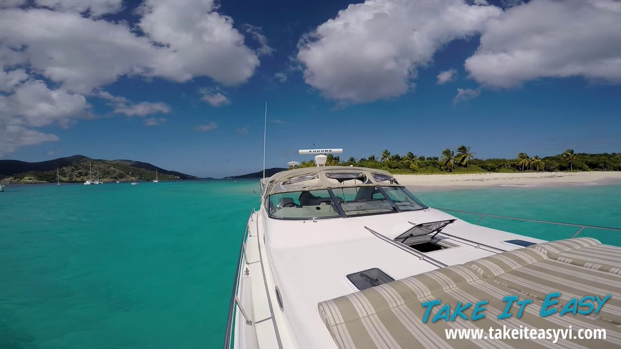 Powerboat Rental & Private Charter Yacht in St  Thomas & St