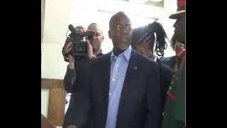 Raisi Dr John P Magufuli Alipofanya ziara ya Ghafla Muhimbili National Hospital Nov 09 ,2015