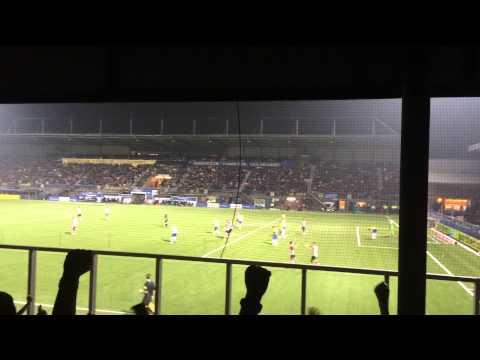 Davy Pröpper lied tijdens SC Cambuur Leeuwarden-PSV : Goal  : 12/9/2015