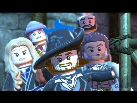 LEGO Pirates Of The Caribbean - 100% Guide #11 - Singapore (All Collectibles)