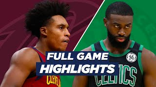 ... check out these extended nba highlights all season long!the boston celtics beat the cavalie...
