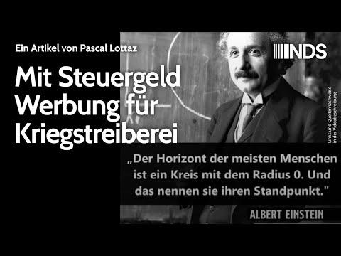 Mit Steuergeld Werbung für Kriegstreiberei | Pascal Lottaz | NachDenkSeiten-Podcast | 30.06.2021