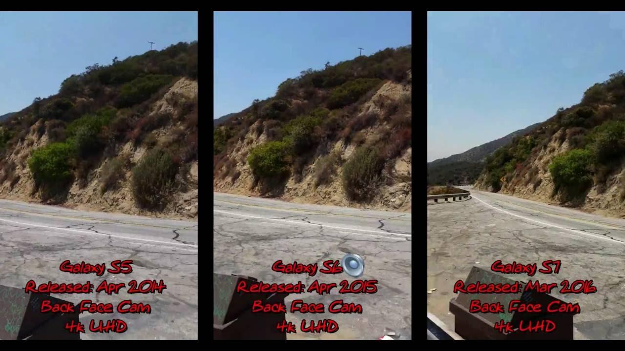 4k Video Test: Samsung Galaxy S5 -vs- S6 -vs- S7