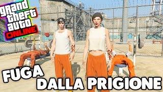 Gta 5 Challenge ITA - Fuga dalla prigione con 5 stelle!