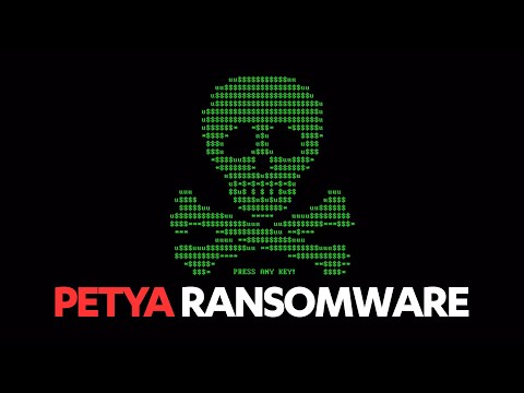 An example of Petya ransomware infection 11-2016 / F-Secure