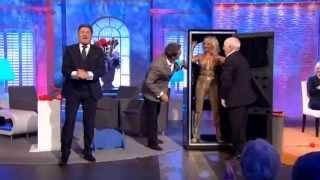 Paul Daniels does geometrix vanishing trick on Alan Titchmarsh Show - 7th October 2013