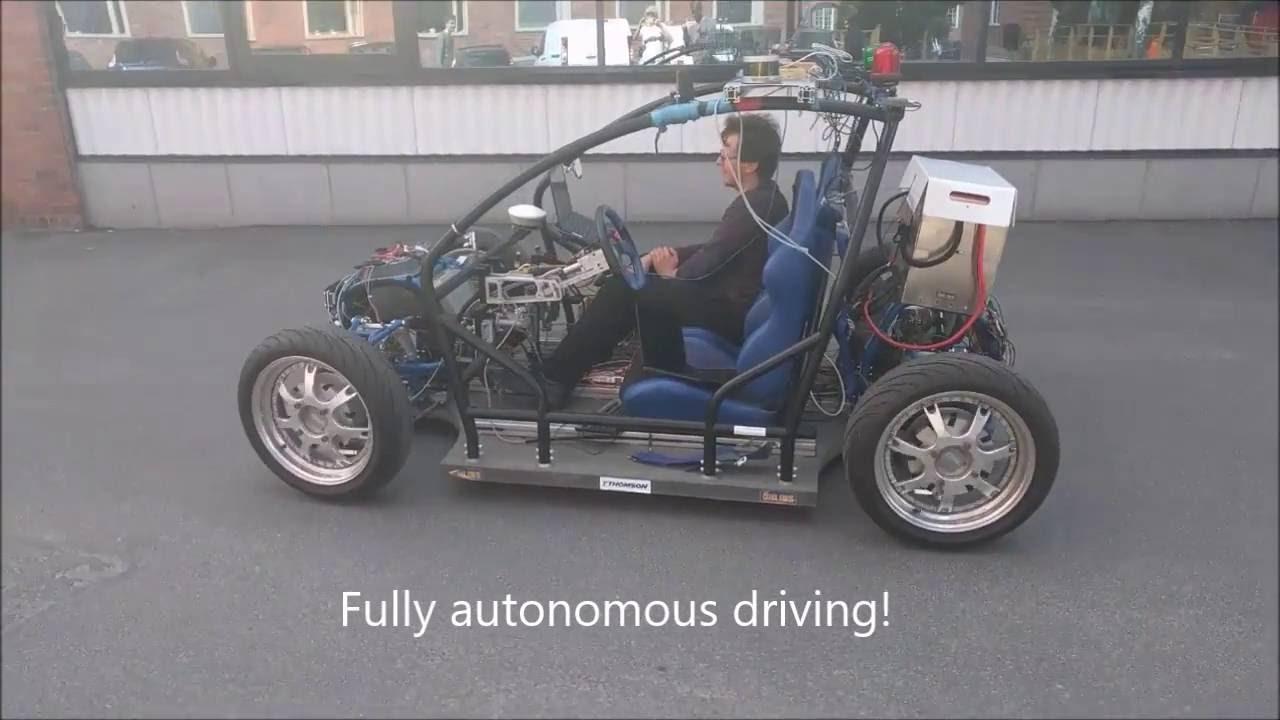 Kth Autonomous Rcv Car With Ros Stack Youtube