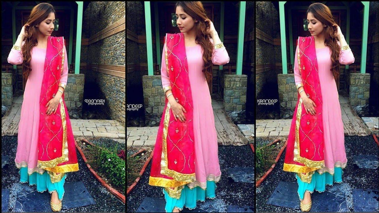 Elegant colour contrast combination ideas for suits/kurtis 2020 || girls colour combination outfits